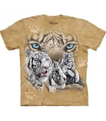 Find 12 Tigers - Tiger T Shirt by the Mountain