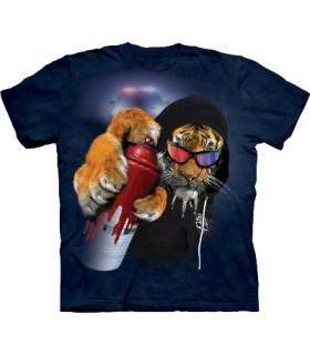 Tigre Graffiti - T-Shirt Manimal par The Mountain