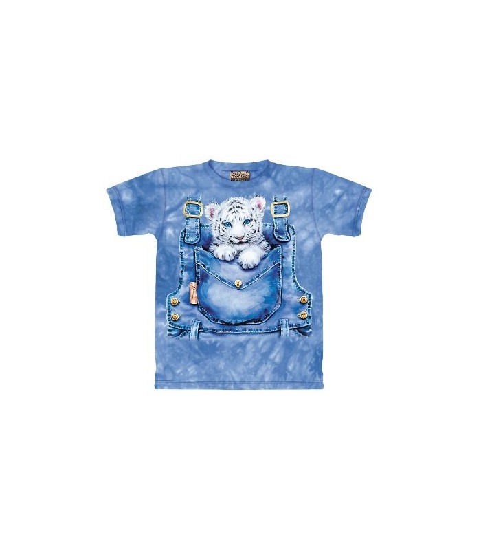 Pocket Tiger - Animal T Shirt The Mountain