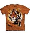 T-Shirt Puissance et Grâce du Tigre par The Mountain