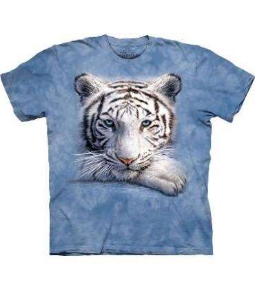 T-Shirt Tigre au repos par The Mountain