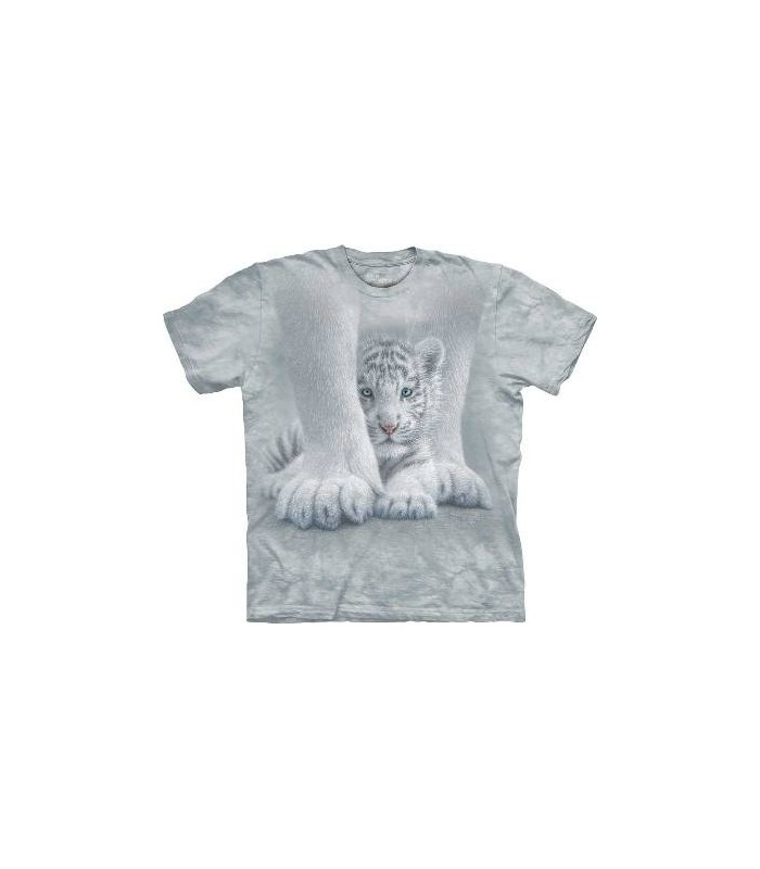 T-Shirt Tigre sous sa maman par The Mountain