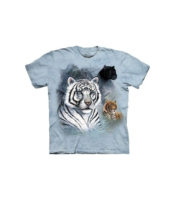 aa4c8ede Three Cats - Animal T Shirt by the Mountain