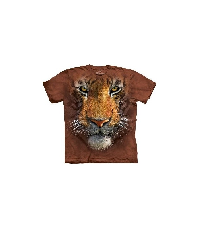 Tiger Face - Big Cats T Shirt by the Mountain