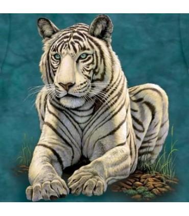 T-Shirt Regard du Tigre par The Mountain