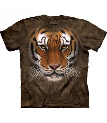 T-Shirt Guerrier Tigre par The Mountain