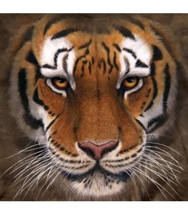 T-Shirt Guerrier Tigre par The Mountain