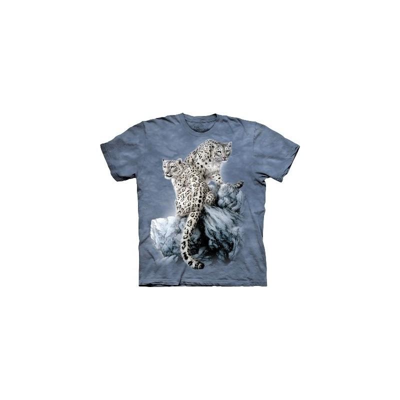 T-Shirt Léopards par The Mountain
