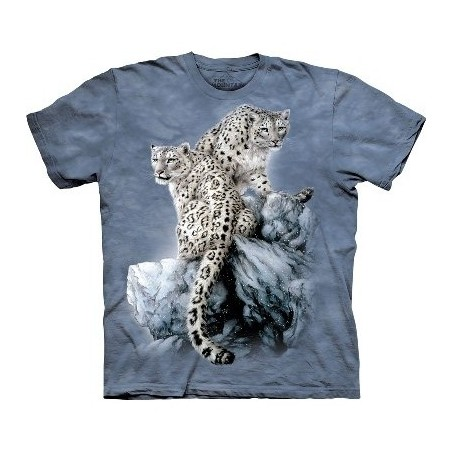 T-Shirt Léopards par The Mountain