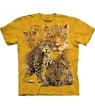 Leopard Collage - Zoo Animals T Shirt by the Mountain