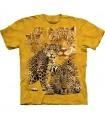 T-Shirt Groupe de Léopards par The Mountain