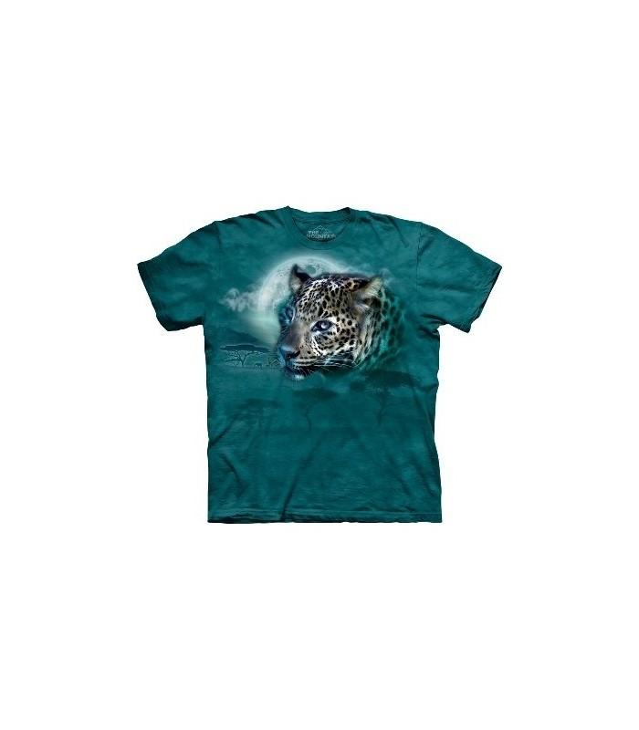 T-Shirt Léopard et Lune par The Mountain