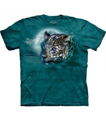 Leopard Moon - Big Cats T Shirt by the Mountain