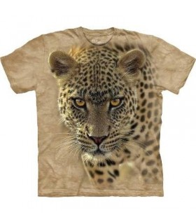 On The Prowl - Leopard T Shirt by the Mountain