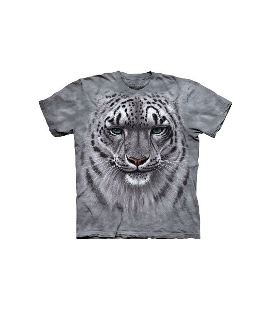 La Montagne Adulte Léopard extinction Blanc protéger T Shirt