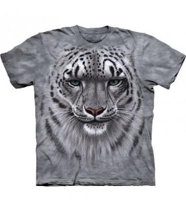T-Shirt Léopard des neiges par The Mountain