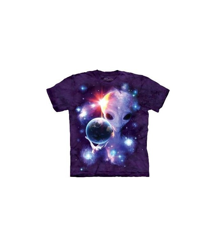 Alien Origins - Sci-Fi T Shirt by the Mountain