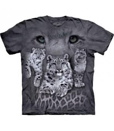 T-Shirt Léopards des neiges par The Mountain
