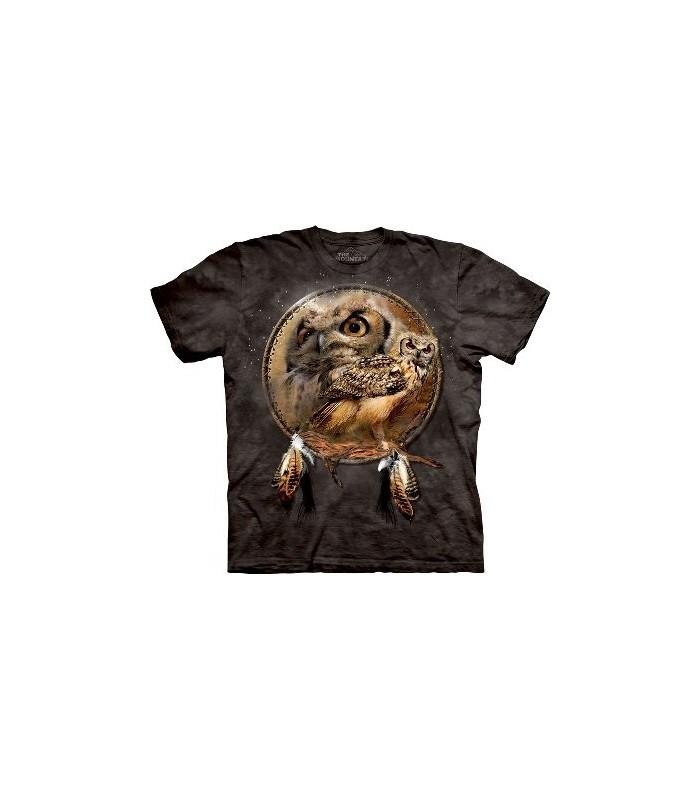 T-Shirt Bouclier Hibou par The Mountain