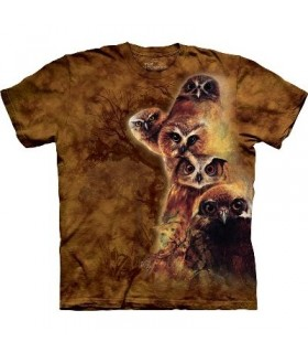 Owl Totem - Bird Shirt The Mountain