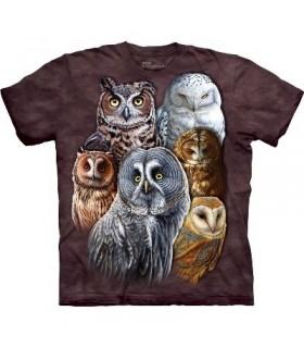 T-Shirt Hiboux par The Mountain