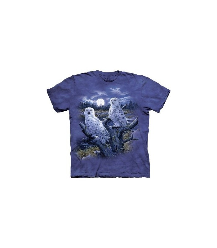 Snowy Owls - Birds Shirt The Mountain