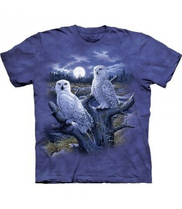 Snowy Owls - Birds Shirt The Mountain