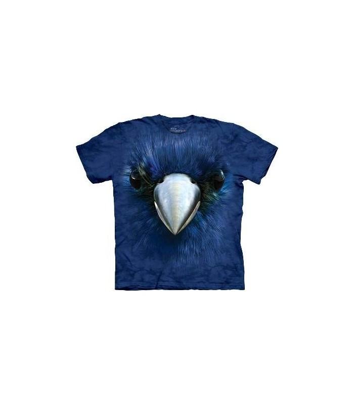 T-Shirt Oiseau Bleu par The Mountain