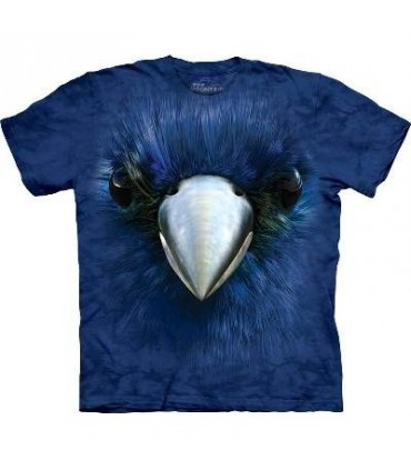 Bluebird Face - Bird T Shirt Mountain