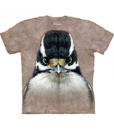 Downy Woodpecker - Bird T Shirt Mountain