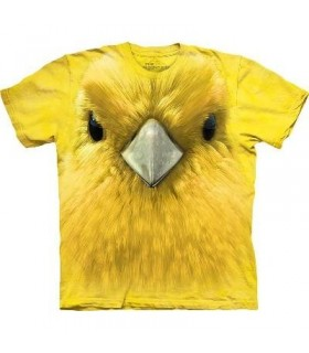 T-Shirt Paruline Jaune par The Mountain
