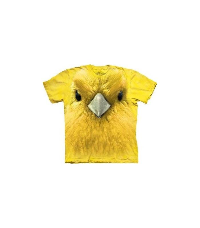 Yellow Warbler face - Bird T Shirt Mountain