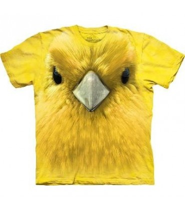Yellow Warbler face - Bird T Shirt Mountain