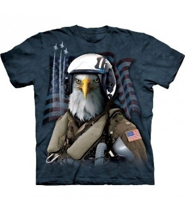 Combat Stryker The T Shirt by the Mountain