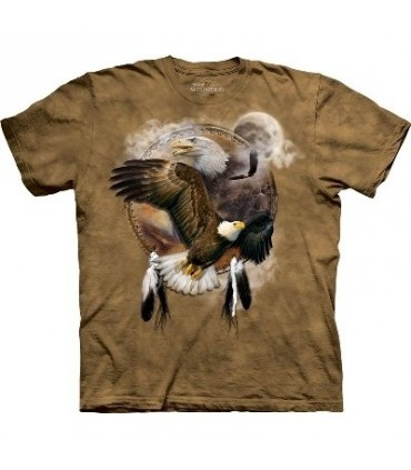 Eagle Shield - Birds T Shirt by the Mountain