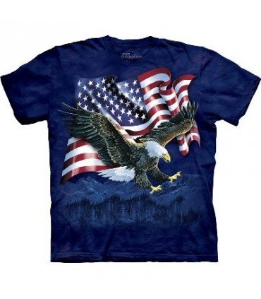 Eagle Talon Flag - USA Shirt Mountain