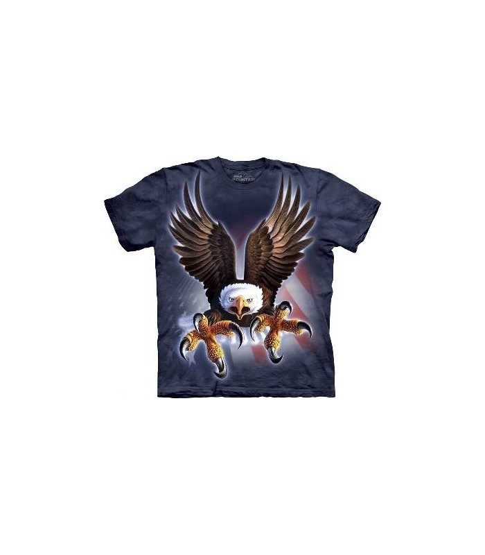 Fierce Eagle - Birds T Shirt by the Mountain
