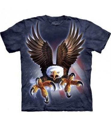 Fierce Eagle - Birds T Shirt by the Mountain