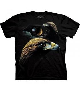 T-Shirt Groupe d'Aigles Dorés par The Mountain