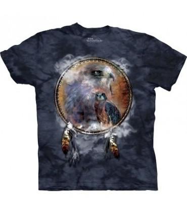 Hawk Shield - Birds T Shirt by the Mountain