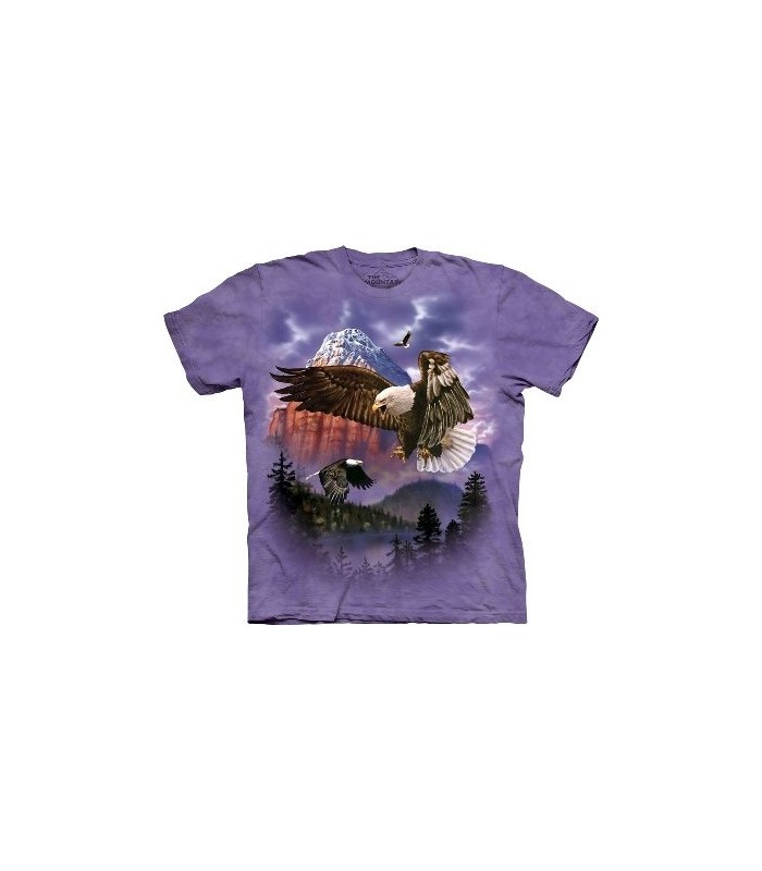 Mountain Majesty - Birds T Shirt by the Mountain
