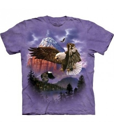 T-Shirt Montagne Majestueuse par The Mountain