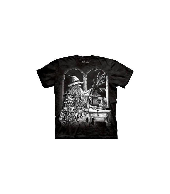 T-Shirt Magicien et Dragon par The Mountain