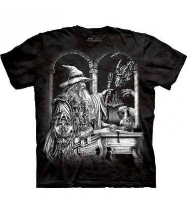 Wizard and Dragon - Dragons Shirt by the Mountain