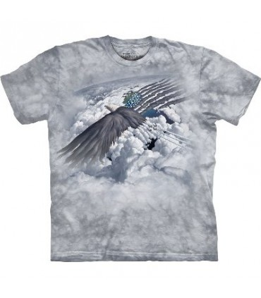 Onward - Eagles T Shirt by the Mountain