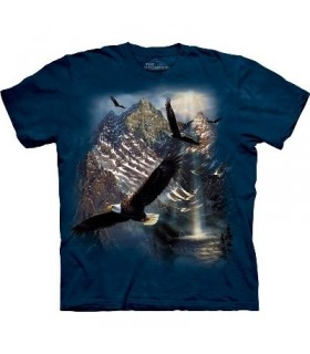 T-Shirt Réflexion sur la Liberté par The Mountain
