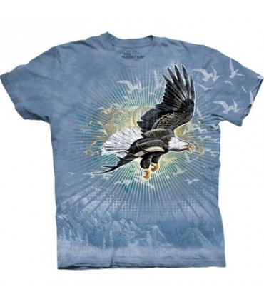 T-Shirt Envol de l'aigle par The Mountain