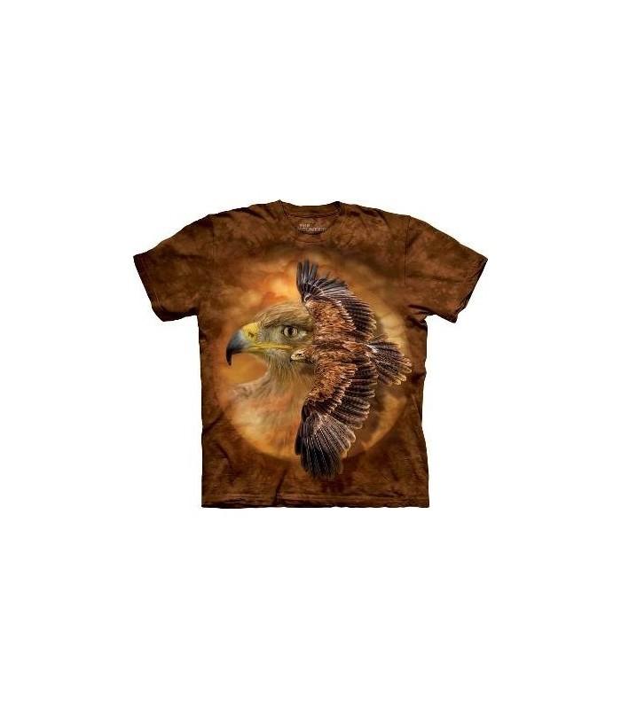 T-Shirt Esprit de l'aigle par The Mountain