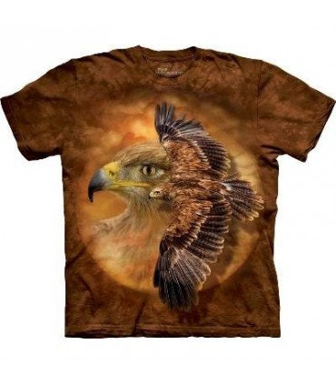 Tawny Eagle Spirit - Birds T Shirt by the Mountain