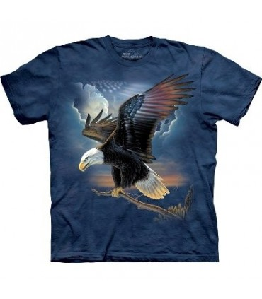 T-Shirt Aigle Patriote par The Mountain